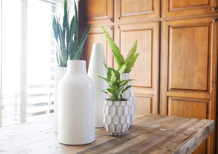 west elm ceramic white vase
