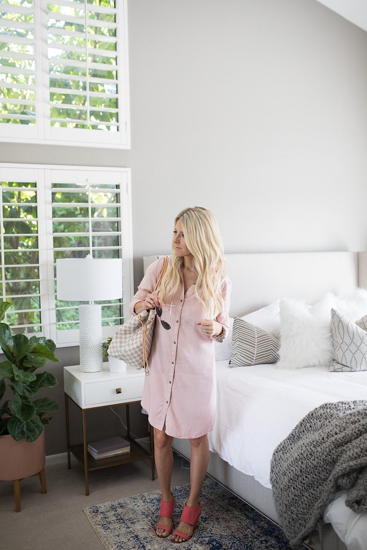 pink-button-up-target-dress