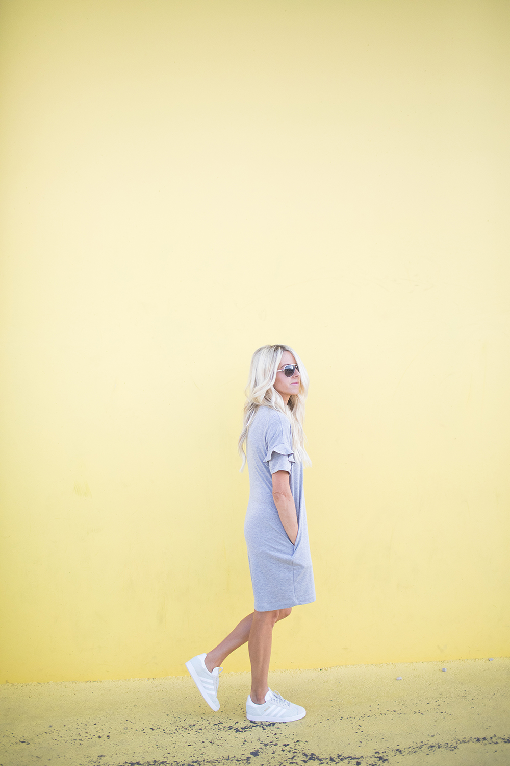 Kailee Wright_Nordstrom Anniversary Sale_Grey Dress