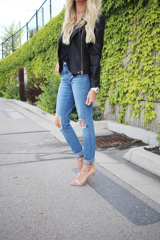 kailee-wright-black-leather-jacket