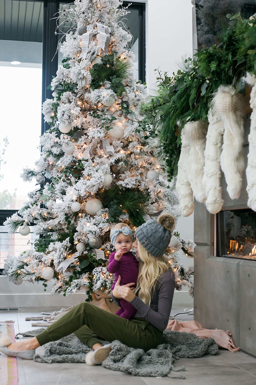 Kailee Wright -Christmas tree-Joggers
