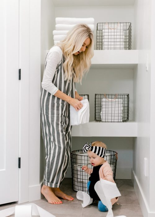 kailee wright, shopbop jumper, stripe jumper, home, harper