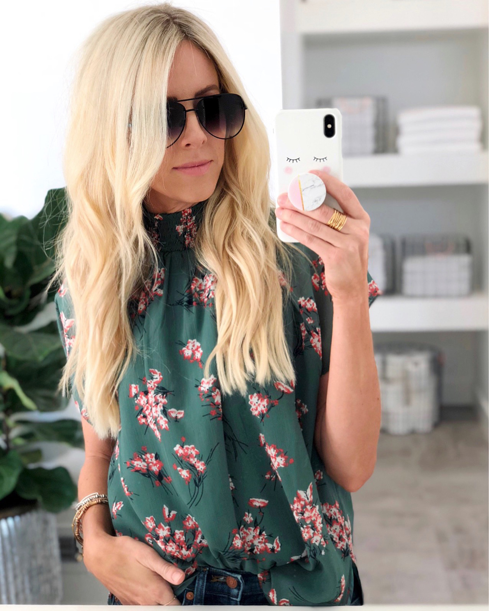 kailee wright weekly update sunnies madewell top