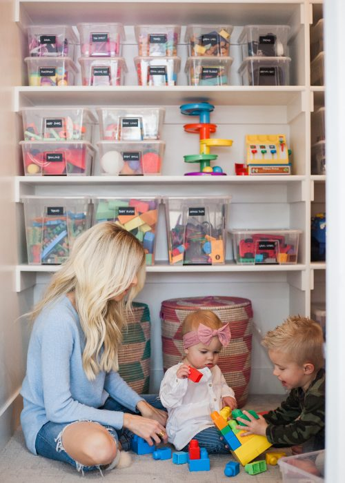 Kailee Wright Playroom Closet