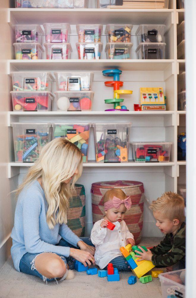 Kailee Wright Playroom Closet