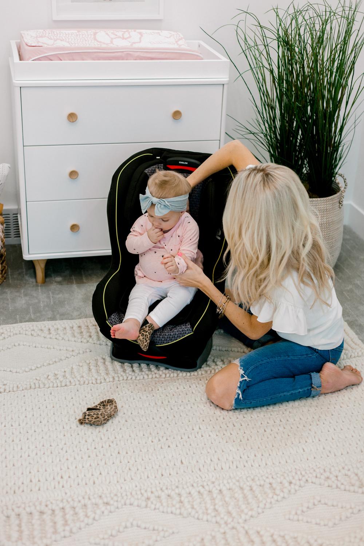 Kailee Wright walmart britax car seat