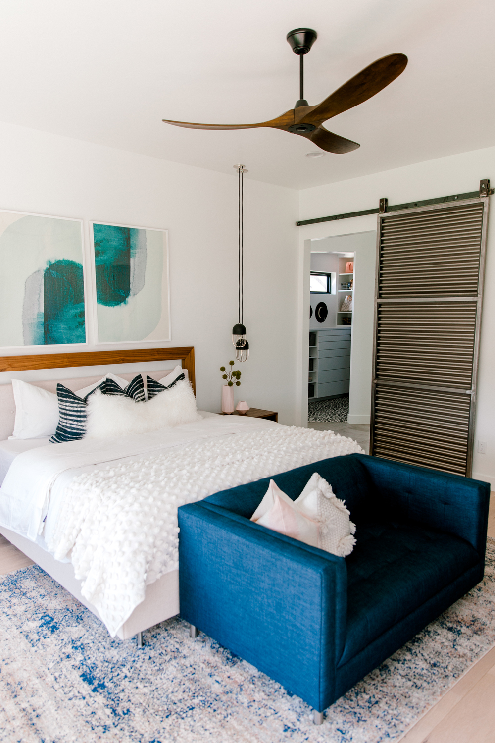 Kailee Wright Master Bedroom minted