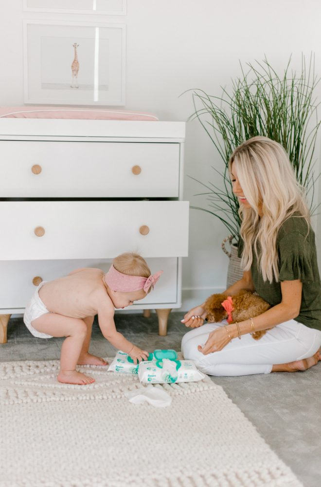 Kailee Wright Pampers Pure Diaper