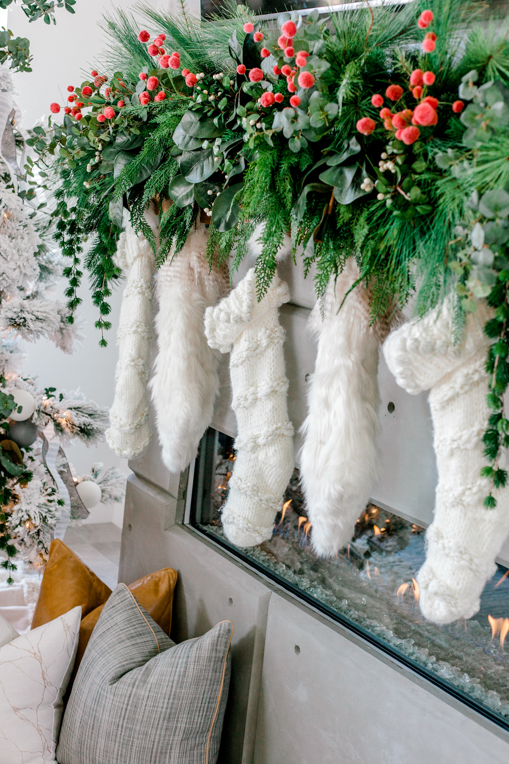 Kailee Wright Chirstmas decorations anthropologie stockings