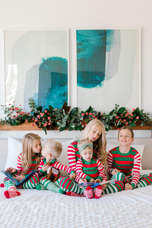 Kailee Wright Hanna Andersson pajamas