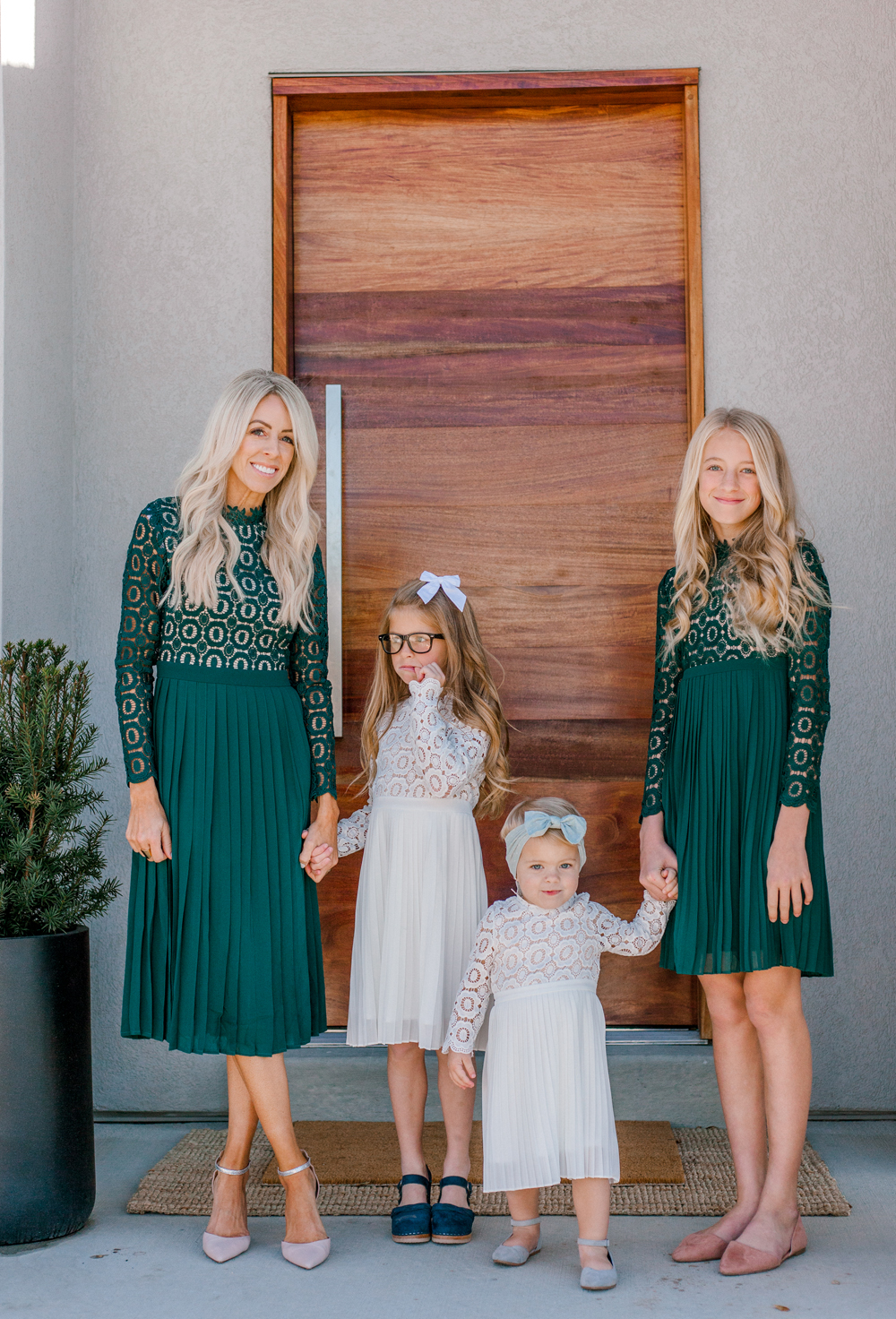 Kailee Wright holiday dresses
