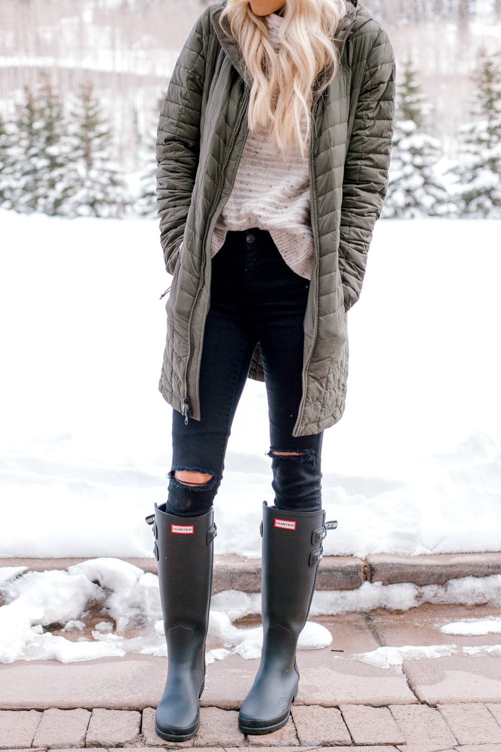 Kailee Wright Nordstrom Hunter Boots