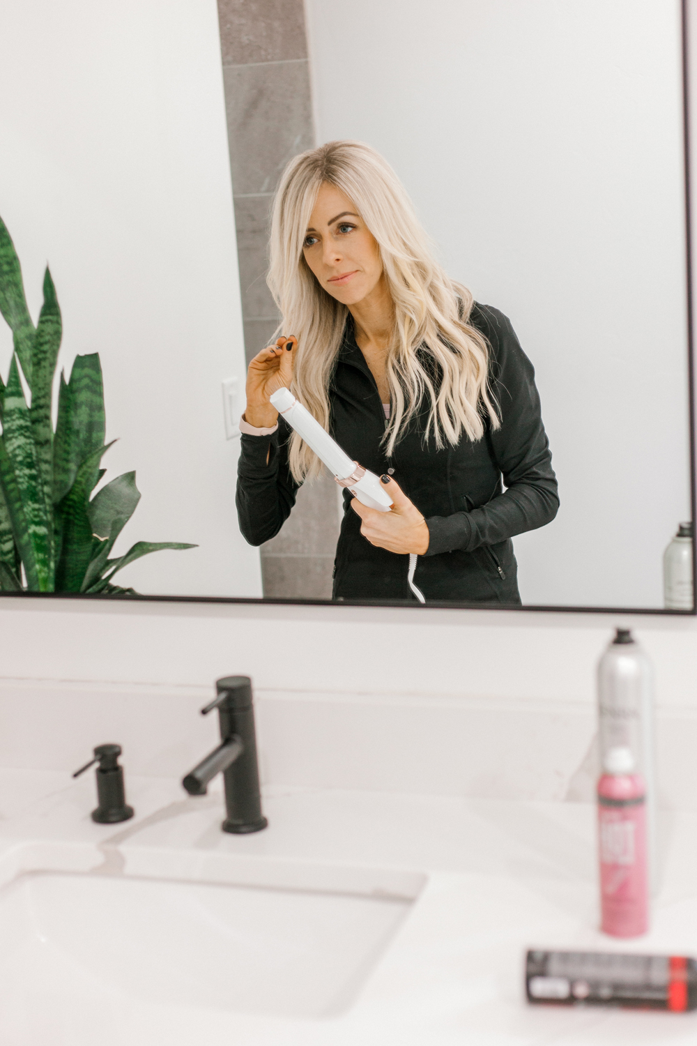 Kailee Wright T3 curling iron and Best Hair Products