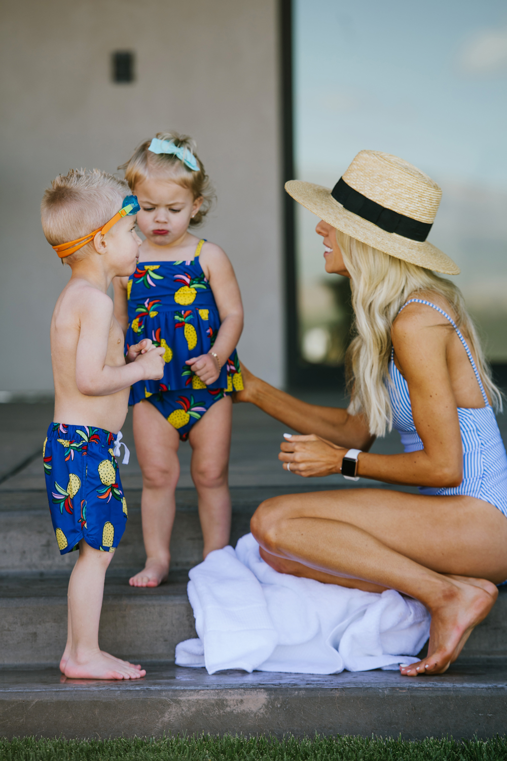 Kailee Wright Hanna Andersson Swimsuits