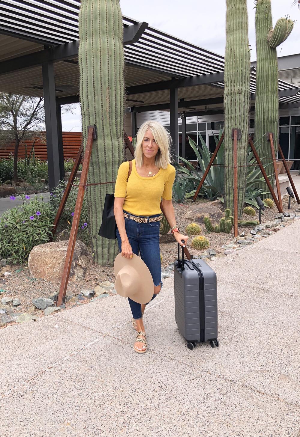 kailee wright andaz scottsdale arizona trip