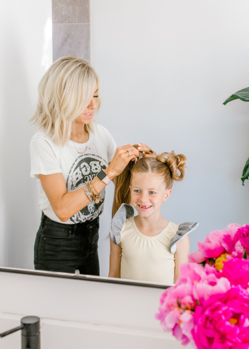 Five minute Hairstyles Kailee Wright