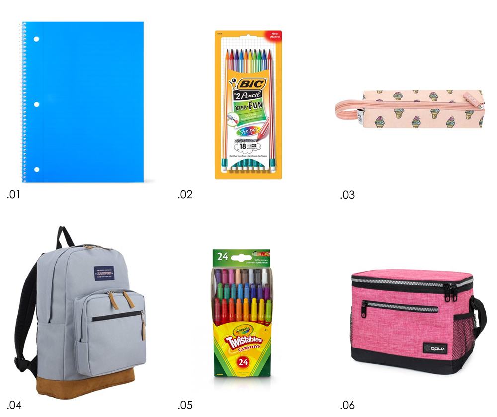 kailee wright Walmart back to school supplies