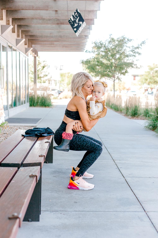 Kailee Wright workouts lululemon
