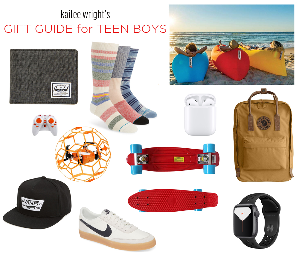 kailee wright gift guide teen boys