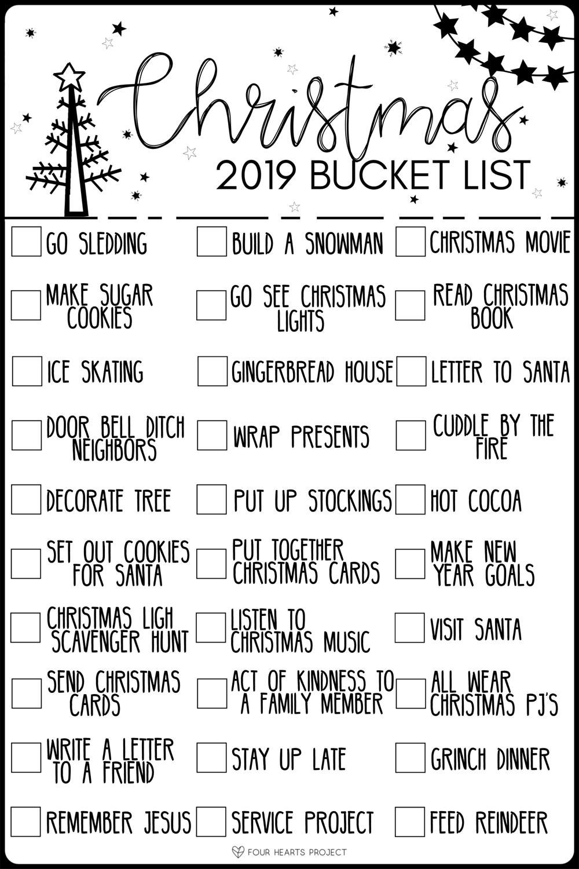kailee wright christmas bucketlist