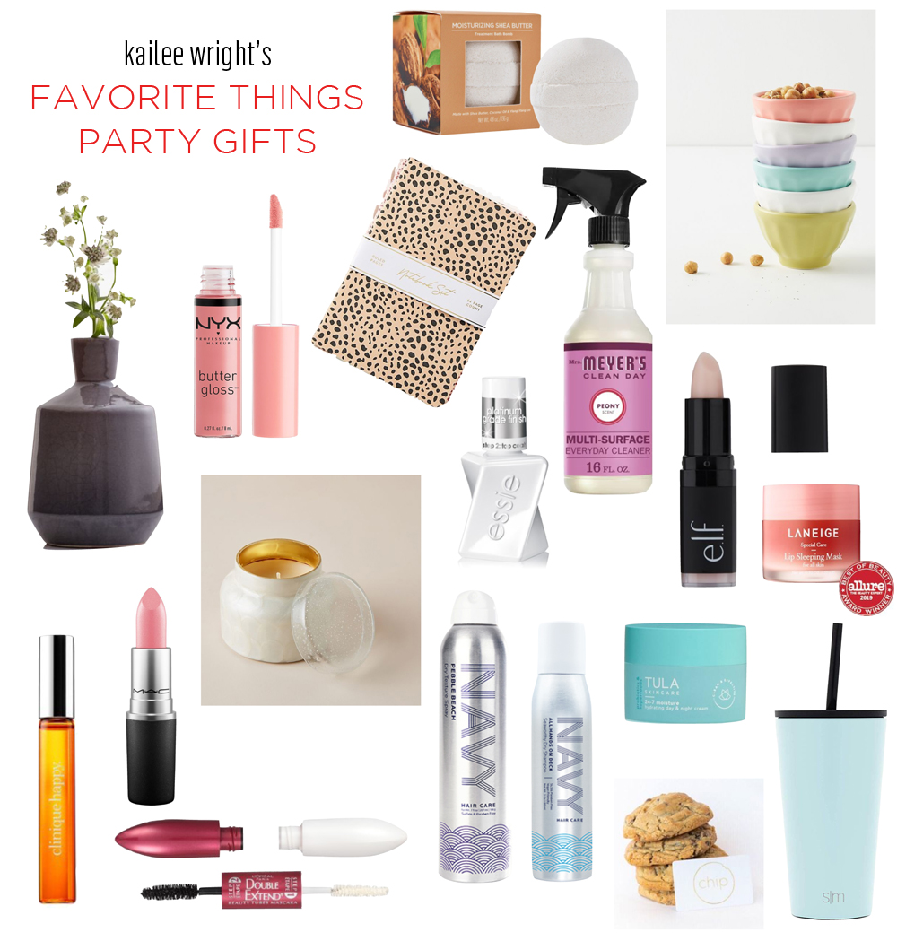 Kailee Wright favorite things gift guide