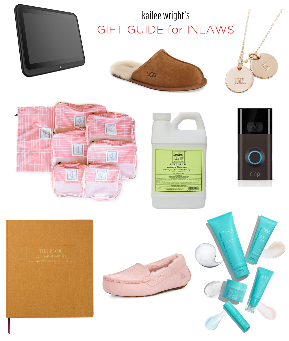 Kailee Wright Gift Guide for Inlaws