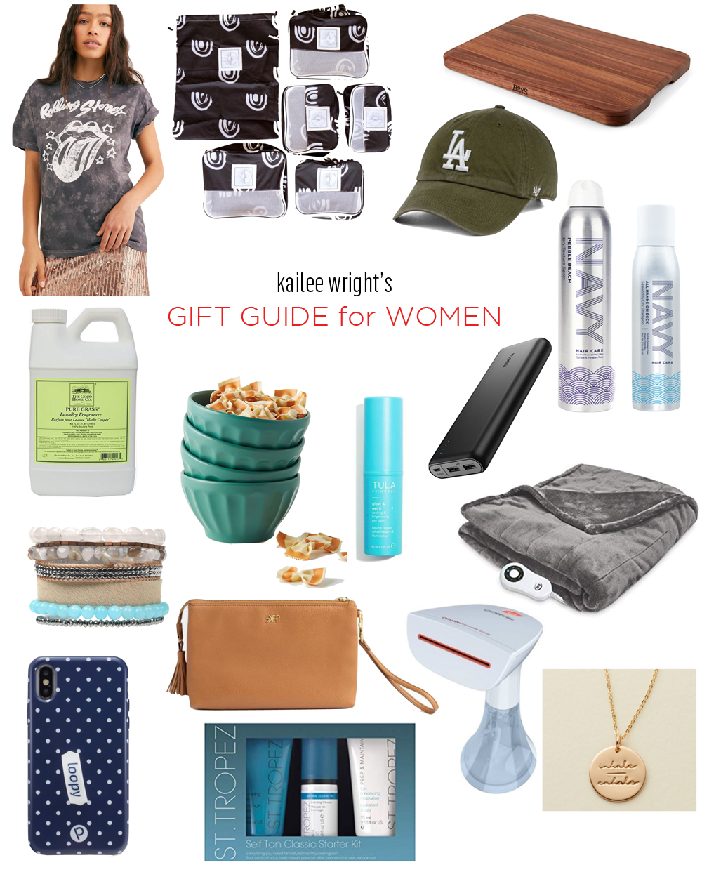 Kailee Wright Womens Gift Guide