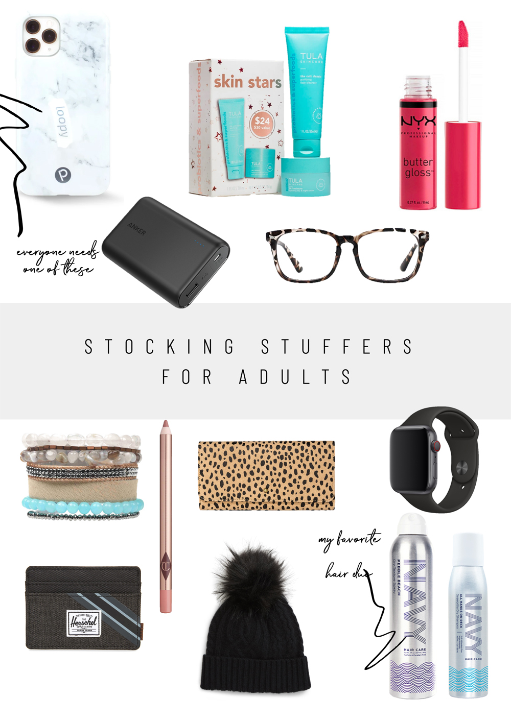 Kailee Wright Stocking Stuffer Gift Guides