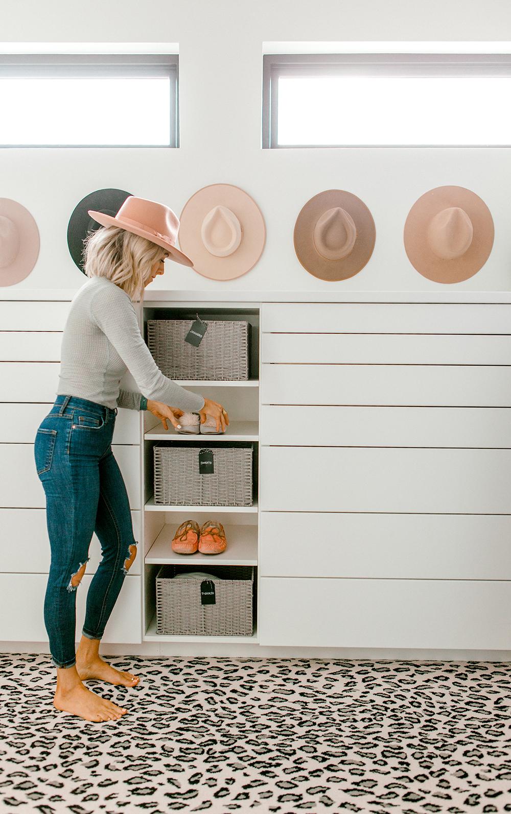 Kailee Wright Minimalist Closet