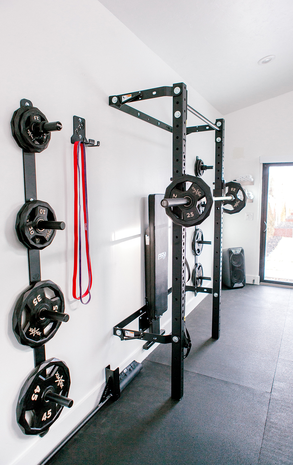 Kailee Wright Workout room