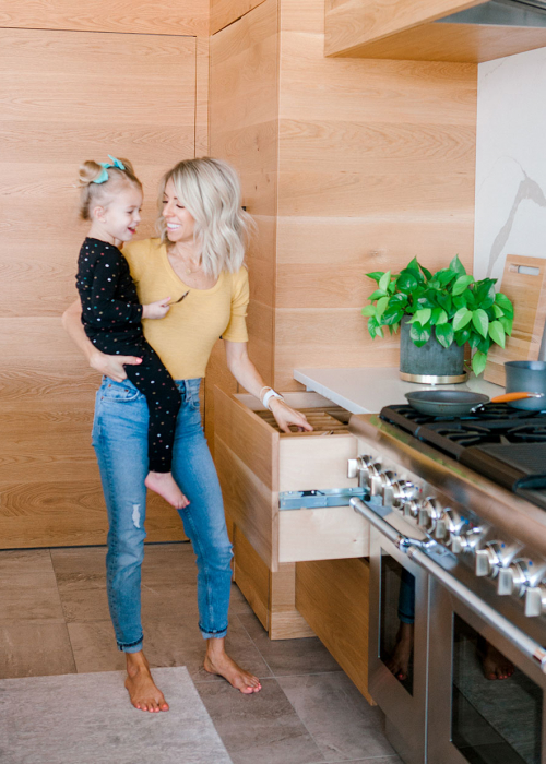 Kailee Wright kitchen cooking