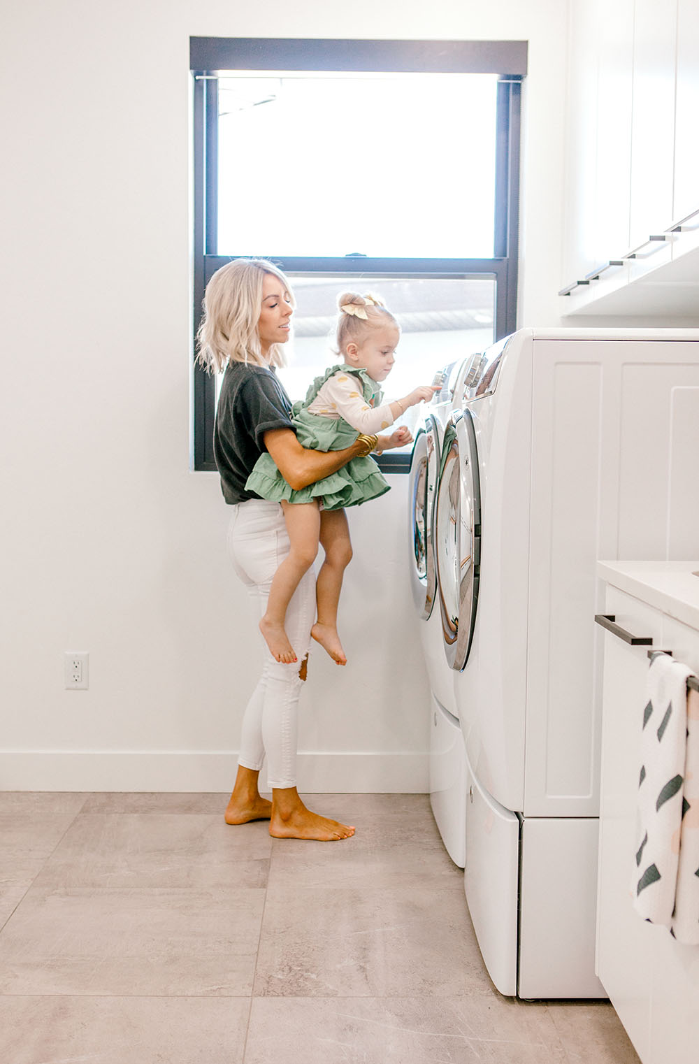 Kailee Wright laundry tips and tricks