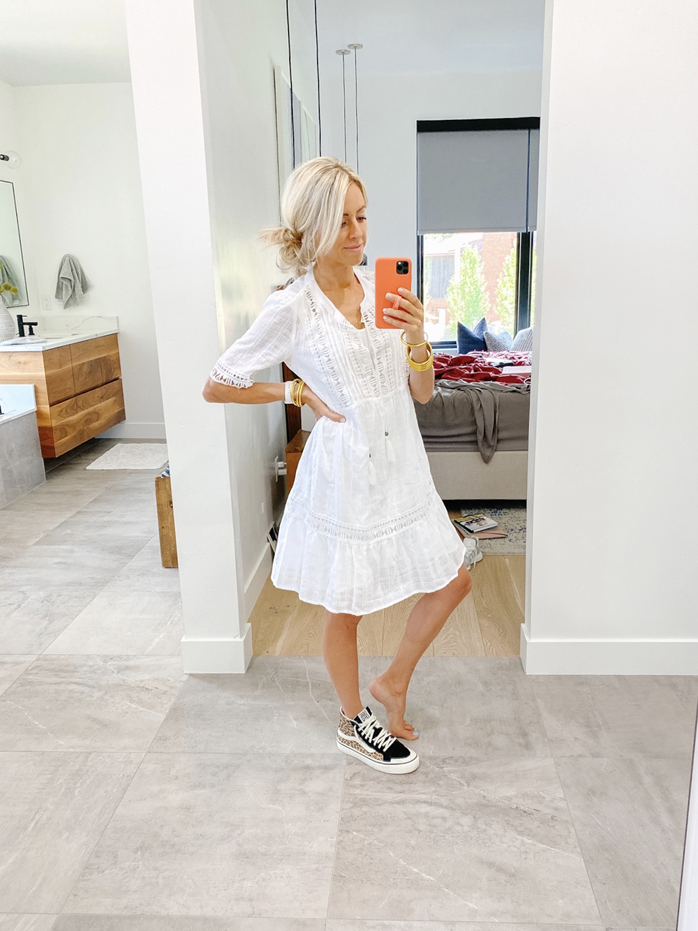 kailee wright target white summer dress