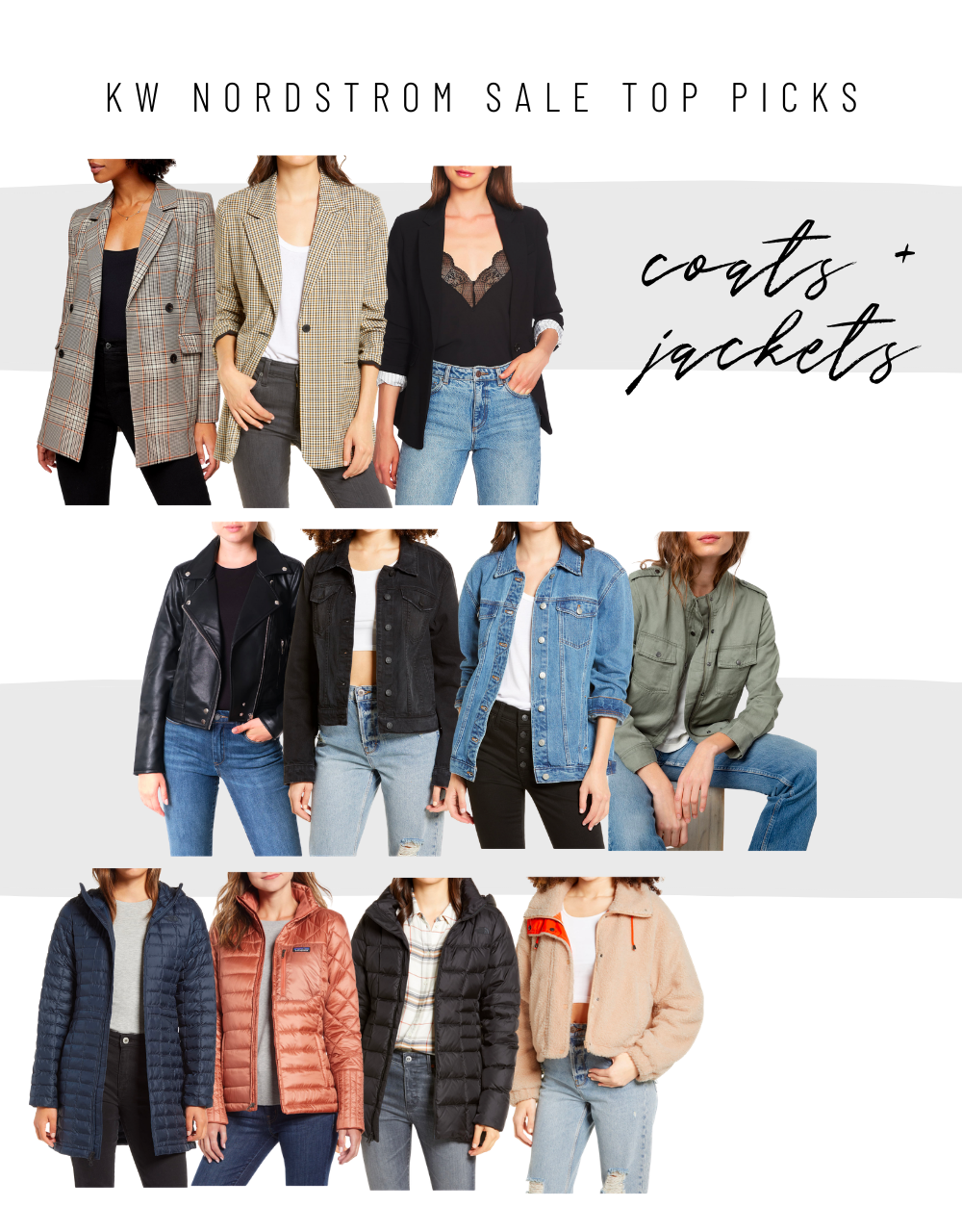 Nordstrom Anniversary Sale 2020 womens jackets