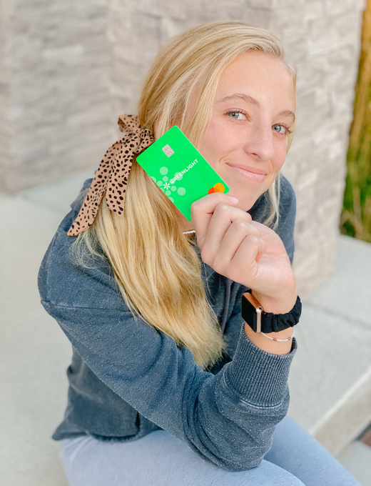 kailee wright green light card