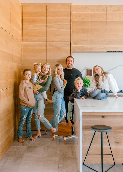 Kailee Wright family