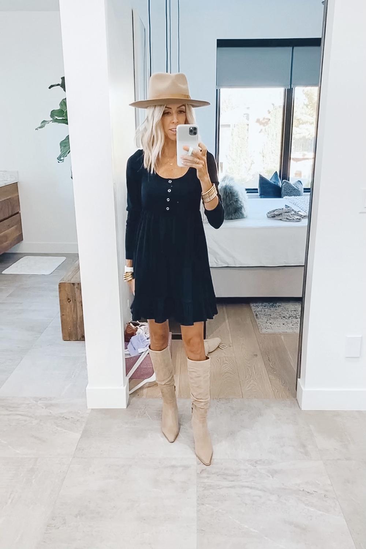 kailee wright target black dress