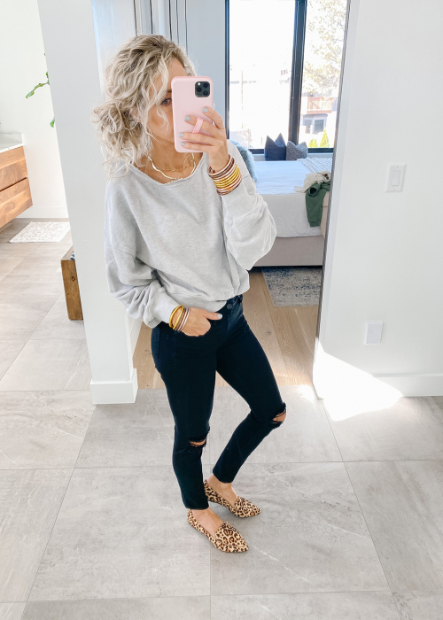 kailee wright black jeans