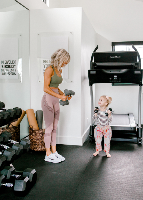 Kailee Wright Home Gym