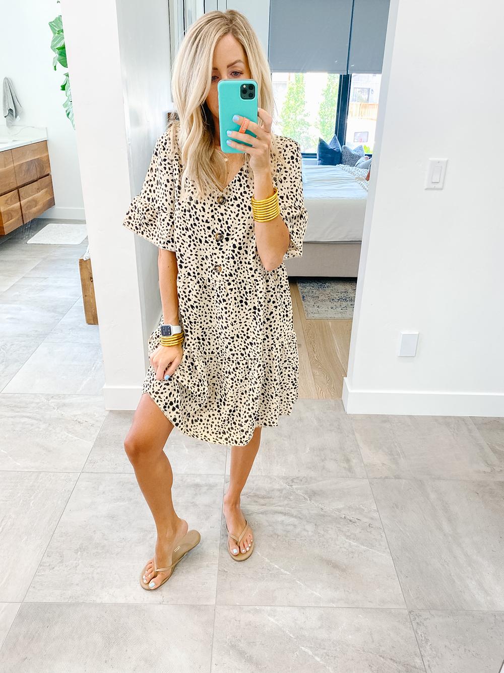 kailee wright amazon leopard dress