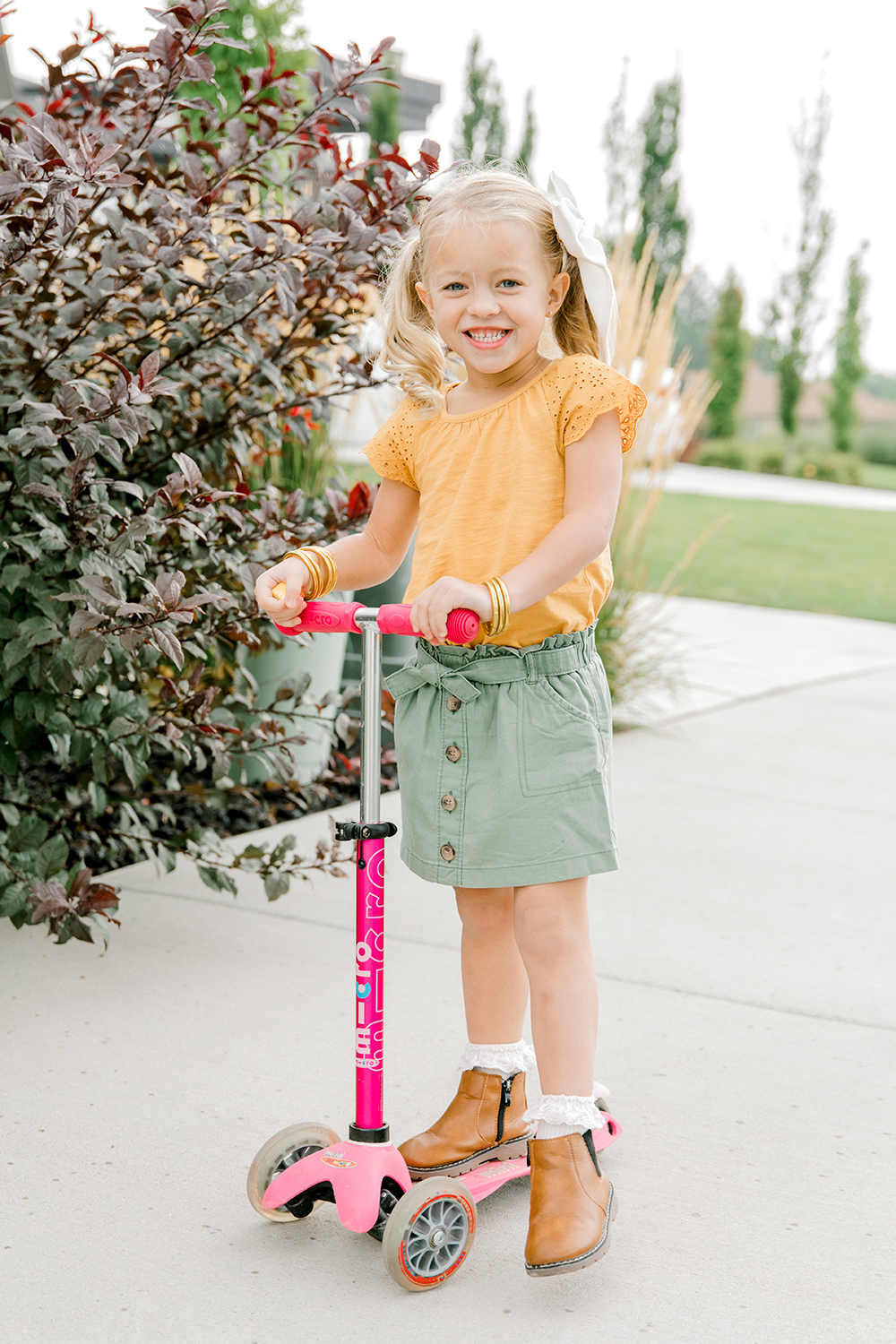Kailee Wright OshKosh back to school clothes for kids