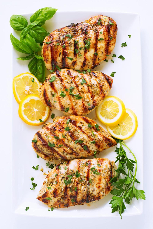 marinated garlic lemon chicken